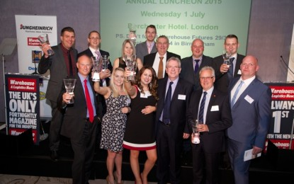 Warehousing winners take a bow at UKWA Awards