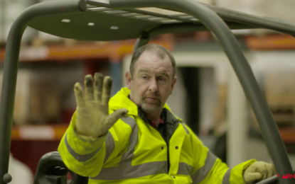 'Show your hand' for new forklift safety campaign