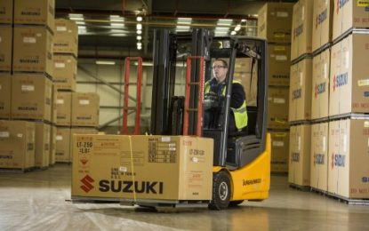 Bibby Distribution drives deliveries for Suzuki
