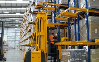 CASE STUDY: Downton maximises warehouse capacity & increases throughput with Jungheinrich Logistics Systems