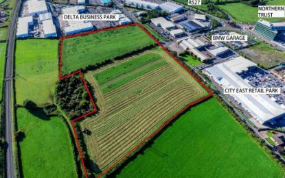 For Sale: 21 acres of prime Industrial zoned lands
