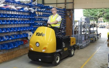 Yale Europe Materials Handling expands tow tractor range