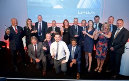 UKWA recognises the best in the logistics industry