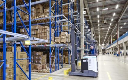 Goody-two-shoes! UniCarriers forklifts in use at Skechers