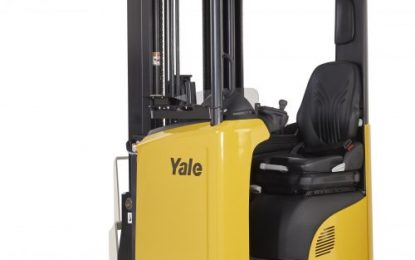 Yale expands reach truck range with tilting mast models