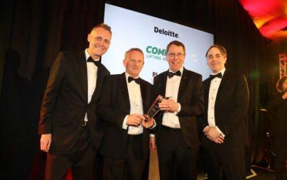 Platinum Deloitte Award for Combilift/Aisle-Master