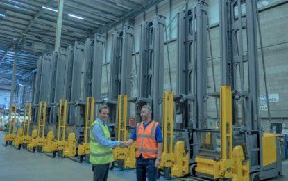 Jungheinrich supplies Wincanton Ireland with 10 ten new VNA forklifts