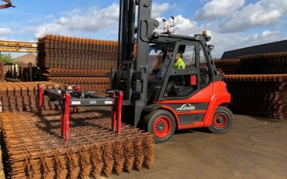 B&B Attachments provides handling solutions to Fender Steel