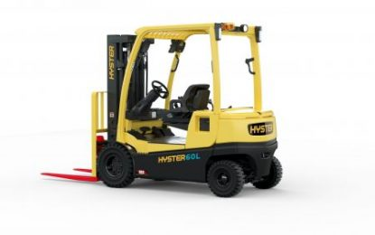 Hyster Lift Truck Nominated for IFOY Award
