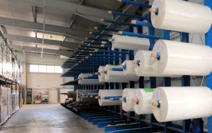 Pallet & Cantilever racks for paper rolls and print media: Forever: Over 30% more storage capacity