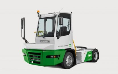 Terberg introduces new generation fully electric terminal tractors
