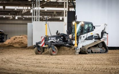 The Cat and the Horse: Bobcat in Action on the Riding Arenas