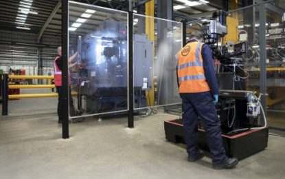 A-SAFE launches new hygiene partition for industrial facilities