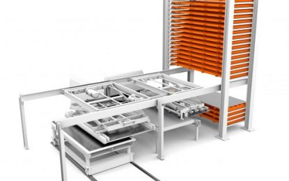 KASTO's new storage system interface automates sheet metalworking