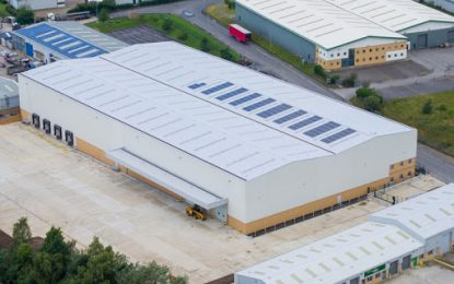 Onward Holdings Ltd sells its newly completed 66,000sq ft speculative warehouse in Featherstone (branded Phoenix 66)