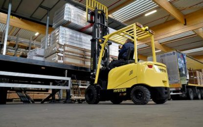 Hyster Europe expands its range of electric counterbalance lift trucks
