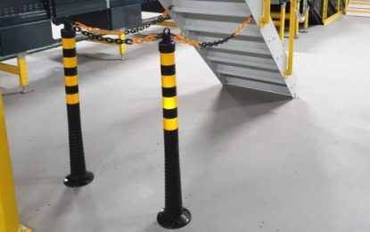 Visusafe flexi-delineators from visual communications specialist Beaverswood