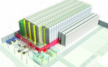 New central warehouse: Norway's largest furniture chain using Jungheinrich automation solution