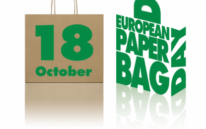 Reusability of paper bags promoted by third European Paper Bag Day on 18 October