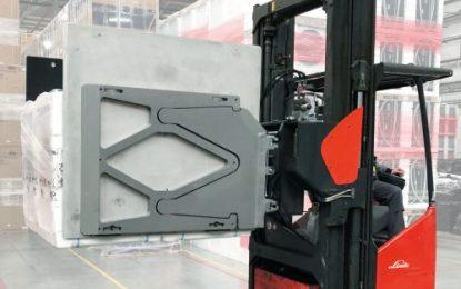 KAUP's 'Smart Load Control' provides damage free handling