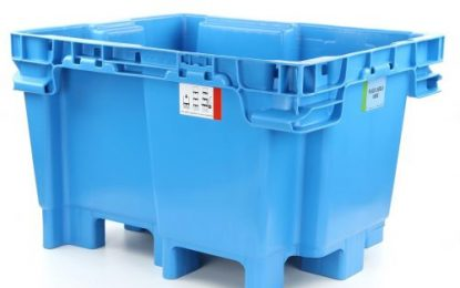 Schoeller Allibert launches JumboNest; A heavy-duty rigid pallet container (RPC) for meat & poultry supply chain.