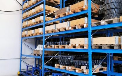 Ketten Gép: 60% more storage capacity with mobile pallet racking