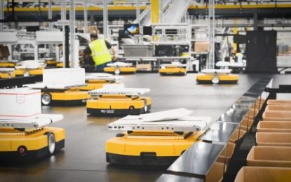 Leading Japanese parcel company installs 'Mini Yellow' technology