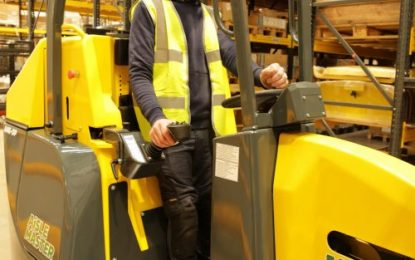 Combilift launches new Order Picker: The Aisle Master-OP