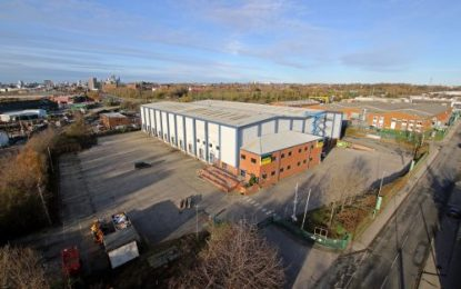 Onward Holdings Ltd is open to offers for a refurbished warehouse in Leeds