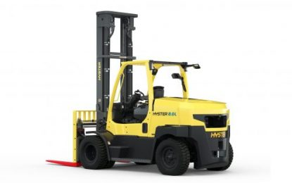 Latest advances in lithium-ion power for Hyster lift trucks