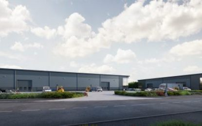 Potter Space's new North Yorkshire industrial units under development by RWO