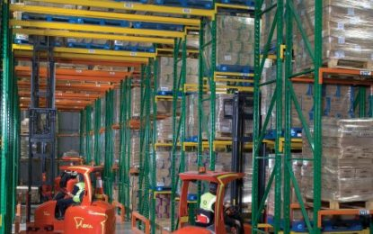 Warehouse extension provides extra capacity for medical supplies distributor