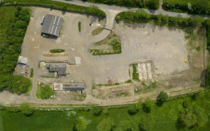 Ideally-located & secure HGV storage & warehousing site for rent at Cranford, near Kettering