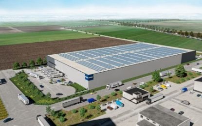 Start of construction for cross-dock property in the Hildesheim region (Germany)