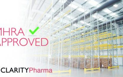 Clarity Pharma secures MHRA approval for second warehouse facility