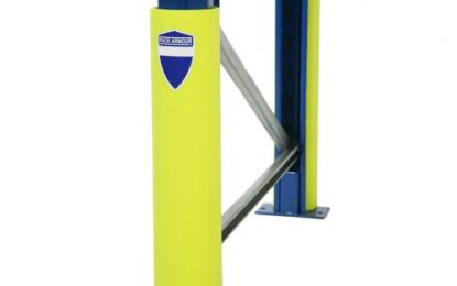 Rack Armour – Easy-to-install upright pallet racking protector