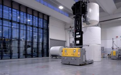 Industry 4.0: E80 Group launches the Unicorn system  More efficient and sustainable automation for the tissue sector