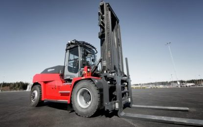 Kalmar & SCA reinforce joint commitment to improve safety, productivity and sustainability through electric forklift pilot project